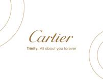 CARTIER TRINITY RELEASE CEREMONY