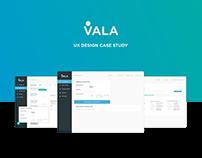 Vala UX Case Study