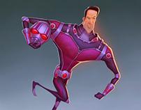 Marvel's Antman illustration