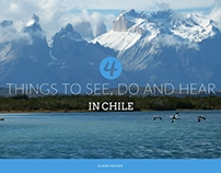 Things to See, Do and Hear in Chile by Shane Krider
