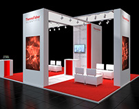 Thermo Fisher Scientific Booth Visualization