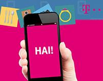 Telekom Launch - Hai! App