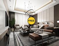 FREE Interior Scene Livingroom 361