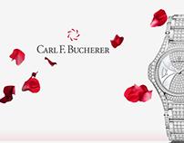 Carl F. Bucherer St Valentine's ad