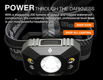 Black Diamond Equipment Email Campaigns