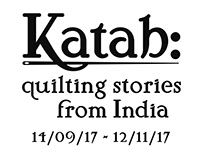 Katab: Quilting stories from India -Exhibition Branding