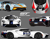 2017 Ford GT Custom Liveries