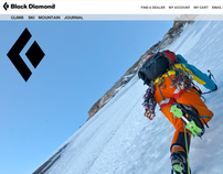 BlackDiamondEquipment.com Re-skin