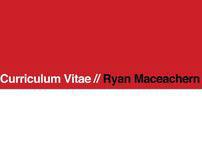 Curriculum Vitae - Ryanco.