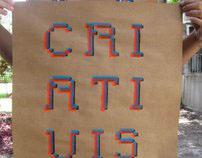 Soma, Tipografia em Estêncil