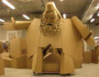 Cardboardia Workshop & Festival, Ulyanovsk Russia