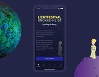 App for the Knokke-Heist Light Festival