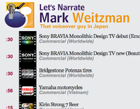 Mark Weitzman - voiceover talent
