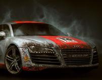 """Audi R8 """"dirt"""""""