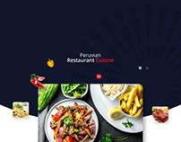App Restaurant Peruvian cuisine
