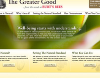 Burt's Bees - The Greater Good