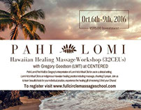 Pahi Lomi Hawaiian Massage Flier