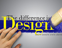 SDSU School Of Design Poster