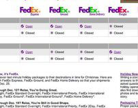 FedEx Shipper Interfaces
