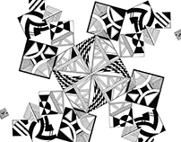 Diseño gráfico, Illustración rotring y tinta china