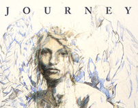 Journey - an exhibition of Drawings by Carne Griffiths