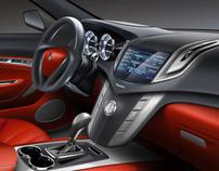 Maserati SUV interior