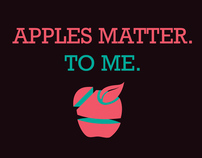 Apples matter. To me.