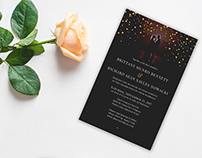 Brittany +Richard: Wedding Invitation