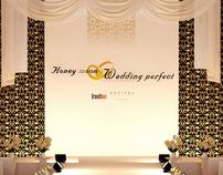 Honeymoon wedding perfect 2009-2010 Stage design