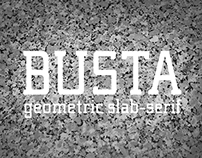 BUSTA Typeface