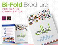 Bi-Fold Brochure for Islamic Organization