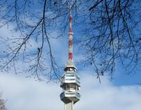 Leaves the Trees. Avala Tower