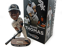 Frank Thomas Hall of Fame Bobblehead and Ad