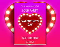 Posters for Valentine`s Day 2017!