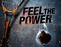 FEEL THE POWER – print