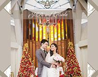 J.A. and Krista Wedding Album