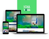 Soul Yoga. Logo/Website.