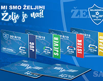 FK Želejzničar season tickets