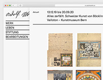 Adolf Wölfli Webdesign