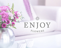 Holiday Enjoy Flowers