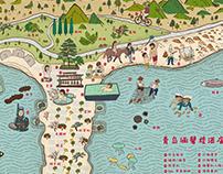 青島涵碧樓酒店地圖The Lalu Qingdao Map