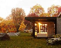 The autumn house.