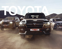 The key visual for Toyota
