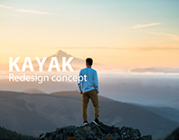 KAYAK iOS app UX redesign concept