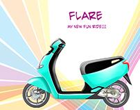 Flare, Internship Project at Honda