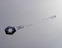 3D Technology Logo Design