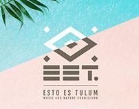 ESTO ES TULUM - Branding