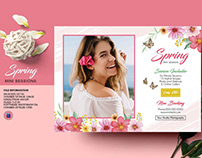 Spring Photography mini session Template