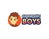 Graphic Boy Logo Design