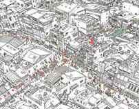 臺南想像街道圖 The imagination of Tainan city street